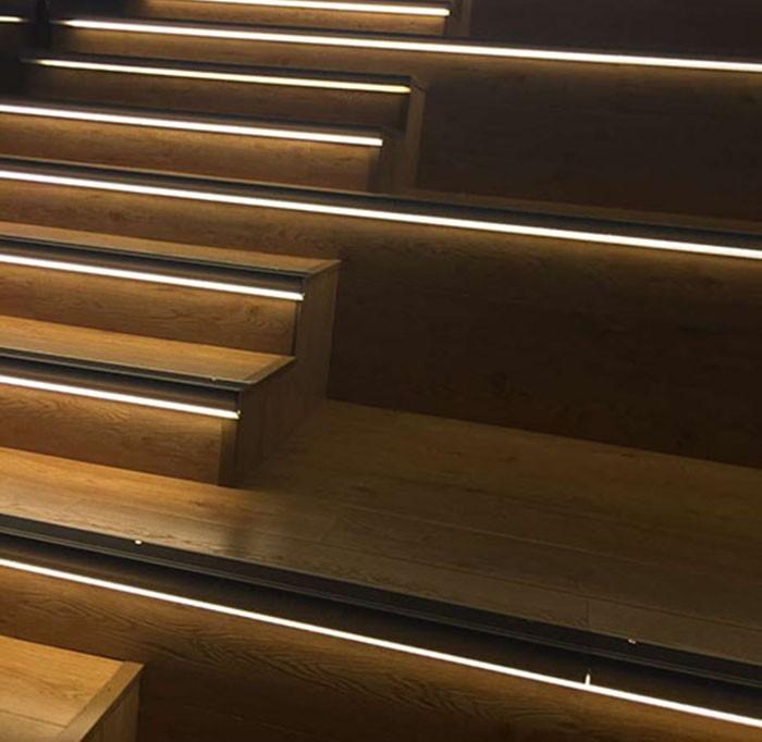 Tsp024 Stair Step Light Led Aluminum Profile Alu