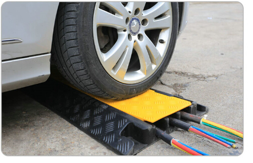 One Way Speed Bump Cable Protector Durable Reflective
