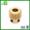 China factory direct customized high quality brass 3D printer gear