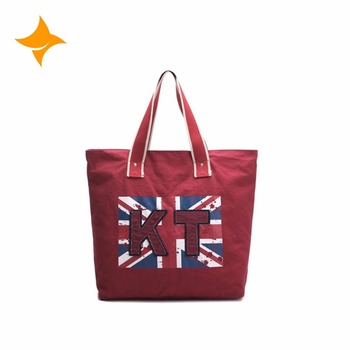 Fashion Printing Nation Uk Flag Design Uni Printed Canvas Tote Bag