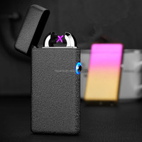 windproof USB lighter 2017 New product