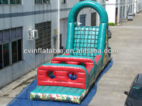 2014 new design giant inflatable paint ball obstacle course games for sale