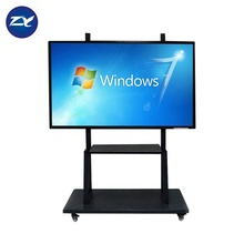 Cina Murah 84 Inch Portable All In One PC Tidak Ada Proyektor IR Layar Sentuh <span class=keywords><strong>Digital</strong></span> Smart Board Interactive Whiteboard