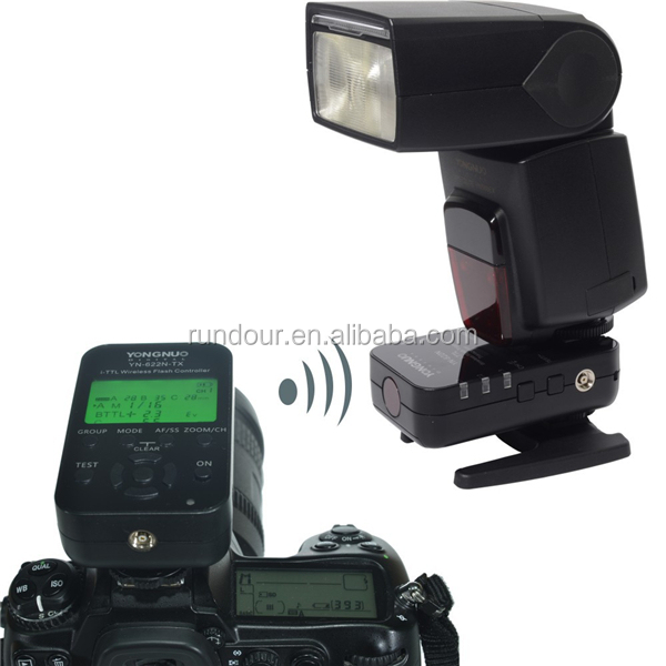 New Yongnuo YN622N-TX Transmitter Controller + YN622N Transceiver Receiver Wireless i-TTL Flash Trigger Kit for Nikon YN968N