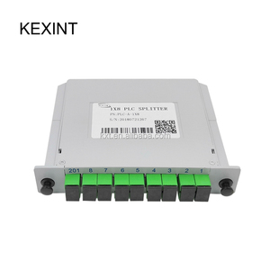 KEXINT Fiber Optic PLC Splitter 1*8 Insertion outdoor electrical splitter / LGX / Cassette type SC/APC
