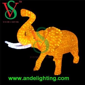 led animal light 24v outdoor decoration elephant light christmas decoration light - Christmas Elephant Outdoor Decoration
