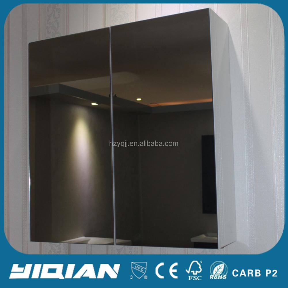 Mdf melamin modernes design wand high end bad for Design bad spiegelschrank