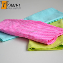 2016 cooling pva magic towel outdoor sports wipe sweat cloth hang on the neck