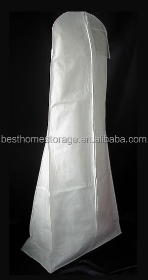 Wholesale Custom Printed Bridal Garment Bags,Wedding Dress Shoulder Cover