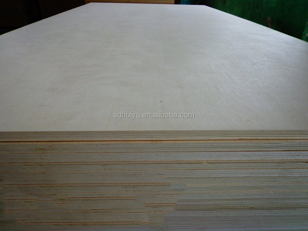 3mm birch plywood 3mm birch face plywood WBP glue plywood for furniture
