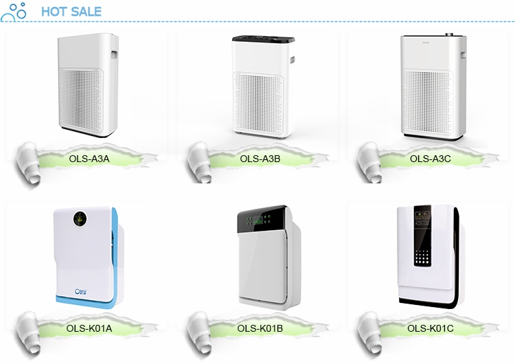 Alibaba China suppliers Olansi new product ideas 2018 air cooler without water ozone oem air purifier air cleaner for home use