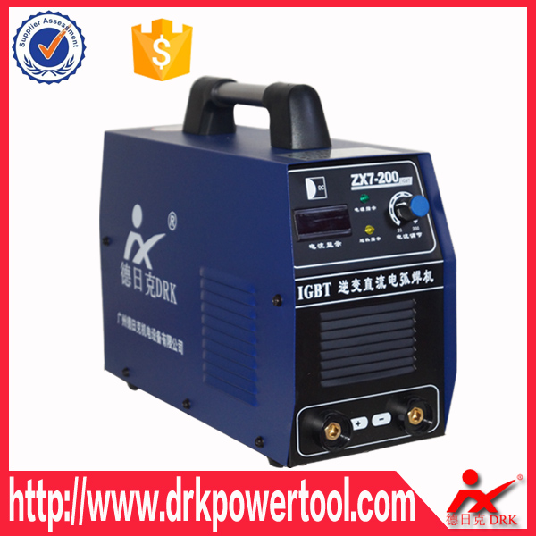 DC IGBT Inverter hot sale ARC 200amp ZX7-200IGBT Efficient <strong>Welding</strong> Weld Machine