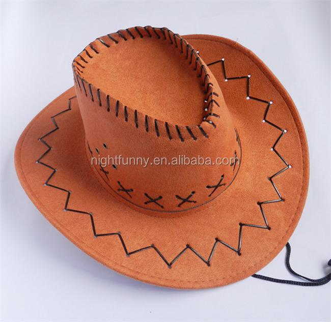 Vendimia década Stetson sombrero blanco gamuza sombrero de vaquero ... 23548bba11e