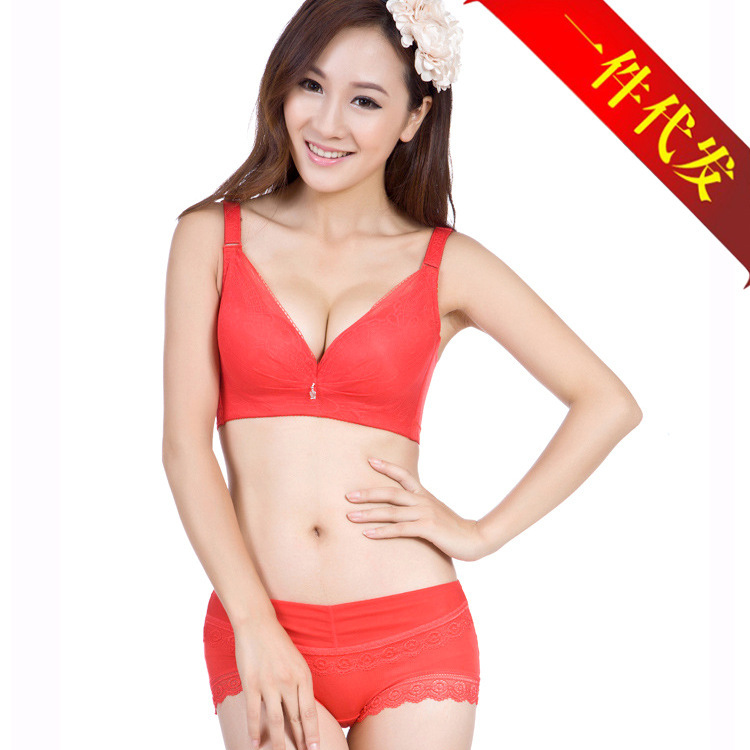 e0174b8a75 Get Quotations · JPJ-6103 Sexy Deep V Neck Push Up Brassiere Underwear  Fashion Ladies Tops Lingerie Women