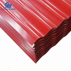 AIYIA Color Coated Corrugated Galvanized Steel Wall/Roofing Metal Sheets