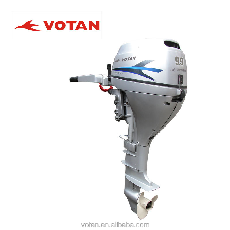 9.9HP Outboard Engine (4-stroke) - Electric/Manual Starter, Remote/Tiller Control