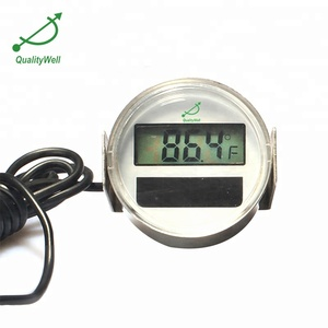 Industrial best cold chain solar digital thermometer