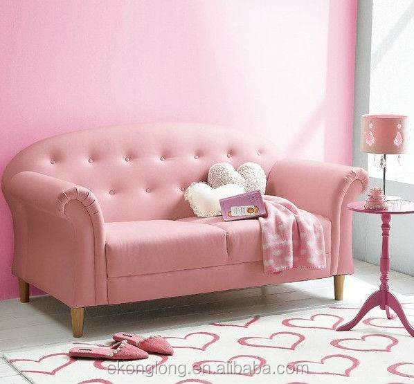 Pink Cute Sofa Bed Furniture Portable Single Product On Alibaba