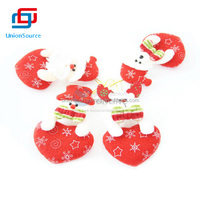 Hot Sale Cheap Christmas Snow Flower Red Shoe Small Cute Lively Cloth