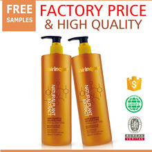 Give coarse hair best nourish make soft new high quality main ingredient argan oil and macadamia oil sulfate free shampoo