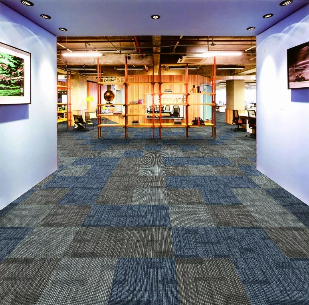 Modern Luxury Design Cheap Price PP Carpet Tiles For Office, Commerical Used Carpet Tiles
