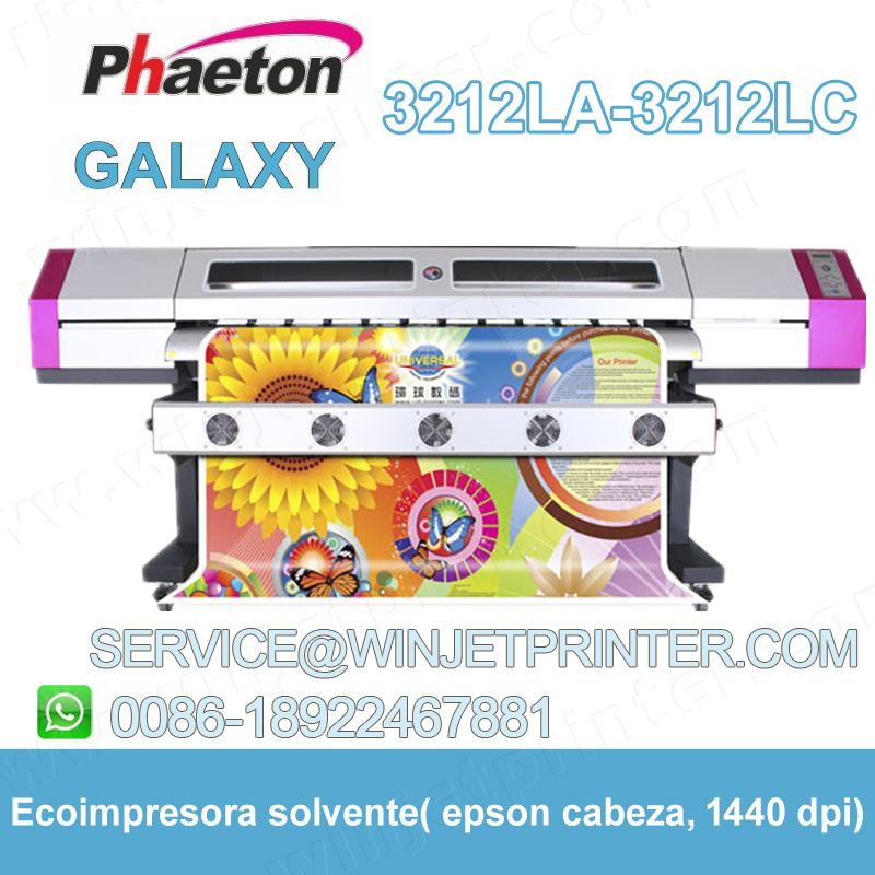 inkjet printer plotter Galaxy 3212LC eco solvent printer wide format inkjet printer