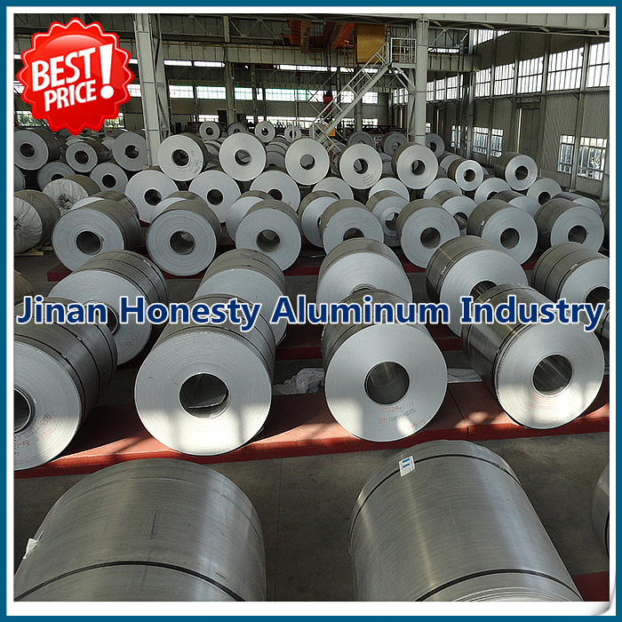 China supplier aluminum coil 3003 H14 for air conditioning condensers
