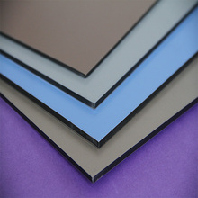 The fastest delivery time designed pvdf ral 9006 aluminum composite panel for cladding indoor aluminium composite panel