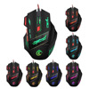Ajustable 1200-5500DPI Optical Wired Mouse for Laptop Backlit 7 Buttons Mice Gamer Computer Mouse LED USB Gaming Mouse for PC