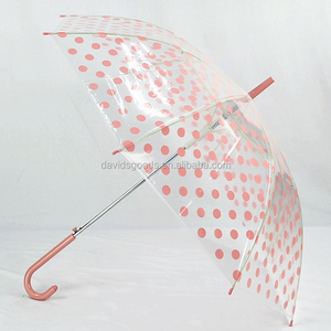 Umbrellas with Rose Printing Handle and Rose Pattern Cover