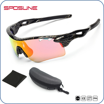 a623371c04 Uv400 Polarized Lens Cycling Sports Sunglasses Interchangeable With Hard  Case - Buy Sports Sunglasses Interchangeable