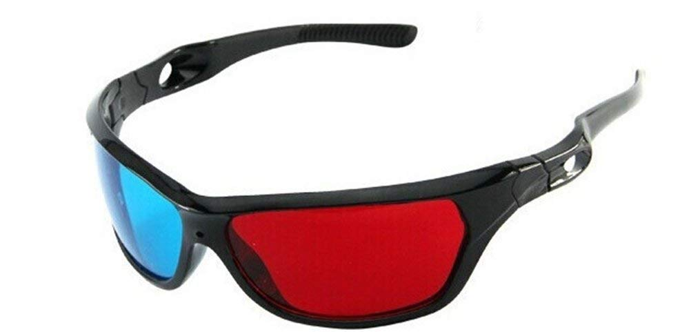 Glasses Direct-3D Glasses -3D Vision Ultimate Anaglyph 3D Glasses - Made To Fit Over Prescription Glasses-YYBT