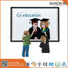 GAOKE 82'' 96'' 104'' 130'' optical whiteboard for school presentation devices in multimedia optical interactive whiteboard