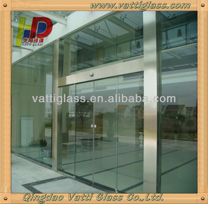 Frameless Fire Rated Glass Doors Sliding Shower Exterior