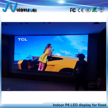 Alibaba express china P6 indoor smd hd video led display/led screen/led wall/led panel