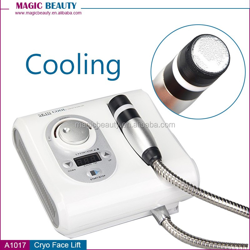 Cryo lifting face and wrinkle removal skin Cool machine with OEM service