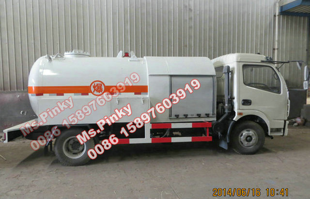 Cheaper Price 5m3 Lpg Refilling Truck For Cooking Gas For Sales - Buy