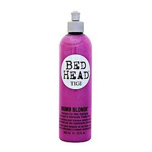 BED HEAD by Tigi DUMB BLONDE SHAMPOO FOR AFTER HIGHLIGHTS 12 OZ for UNISEX