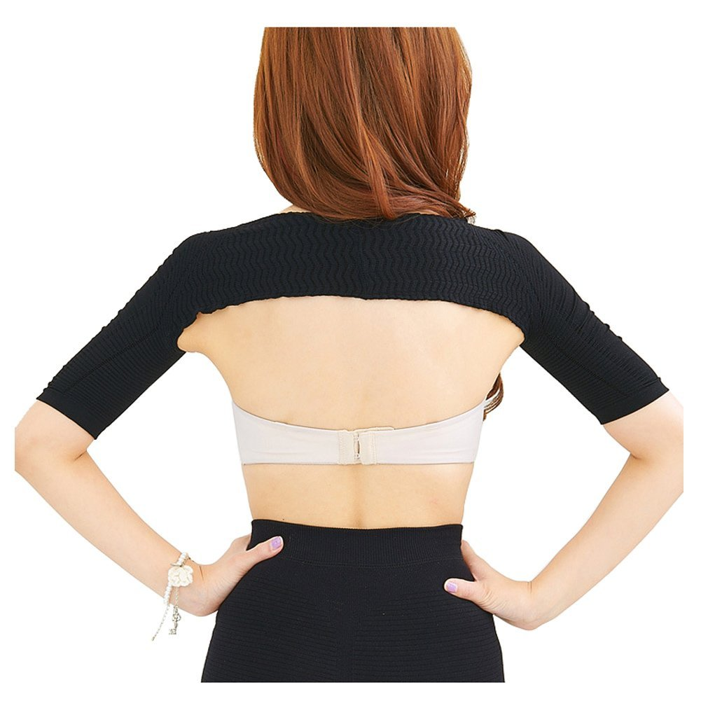 c0abf3c048 Get Quotations · Women Ultra Elastic Compression Arm Shaper Slimmer Anti Cellulite  Fat Calorie Burner Weight Loss Belt Wrap