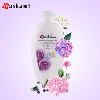 300ml Flower Fragarent Extract Moisturizing Treatment Whitening Body Lotion