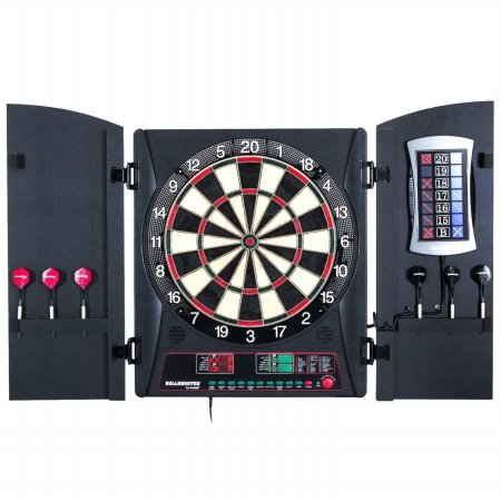 Bullshooter by Arachnid E-Bristle Cricketmaxx 3.0 Electronic Dart Board Complete Set