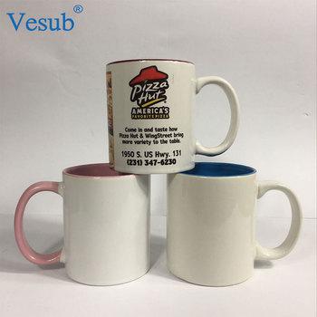 Sublimation Blank Mug 15oz Dark Blue Color Inner Color Ceramic Coffee - Buy  Sublimation Blank Mug,Sublimation Ceramic Coffee Mug,Sublimation Blanks