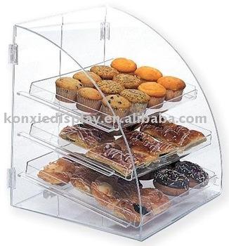 Acrylic Food Display Rack