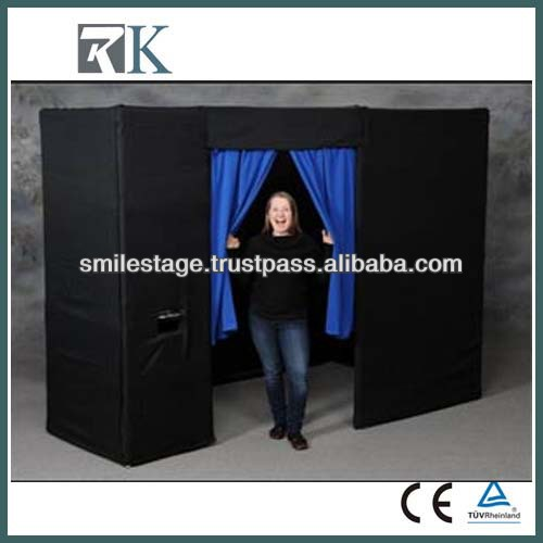 pipe and drape fittings for photo booth package