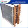low price copper coil condenser used in refrigeration unit