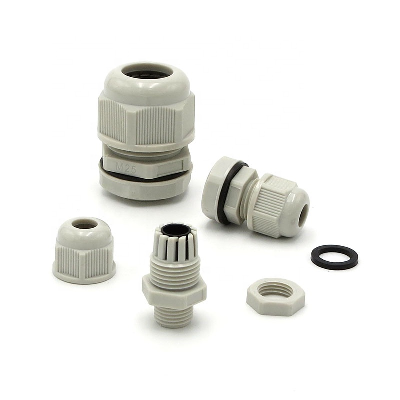 Low Price Manufacturer CE M20 PG11 PG Customized Ip68 Waterproof Type Electric Nylon Plastic Cable Gland Connector