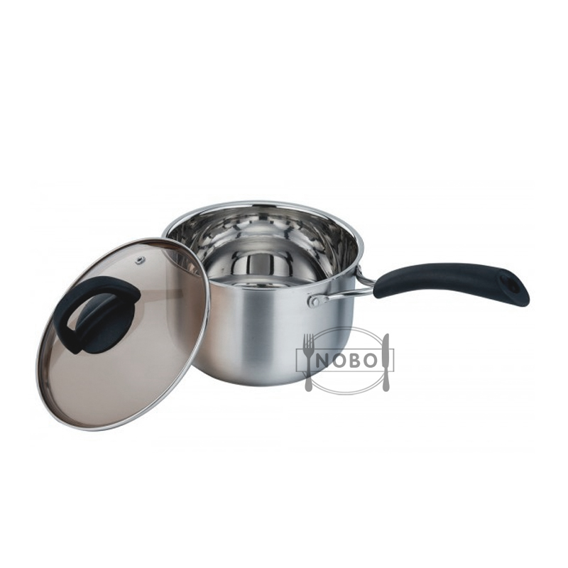 Outdoor Camping Pot Stainless Steel Portable Camping Cookware