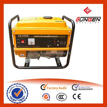 single cylinder small silent portable gasoline generator