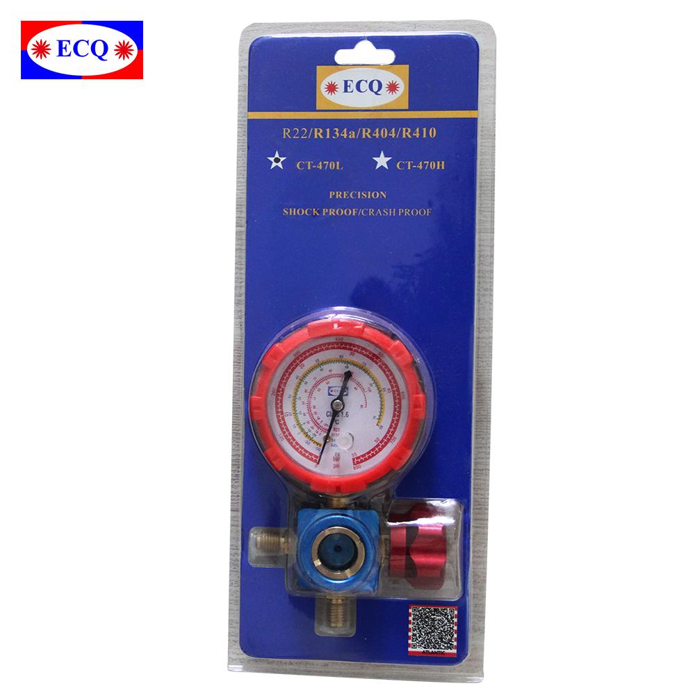 Scale in Celsius Blue RG-250 HVAC R12 R22 R502 A//C Manifold Gauge Low Pressure