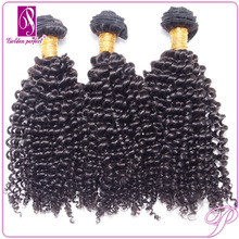 Wholesale high quality malaysian afro kinky curl hair sew in hair weave